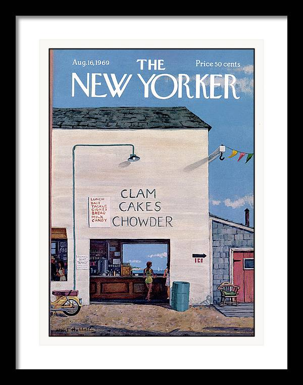 New Yorker August 16th, 1969 by Albert Hubbell
