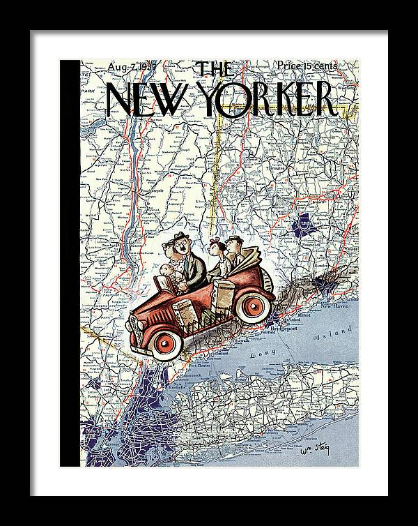 New Yorker August 7th, 1937 by William Steig