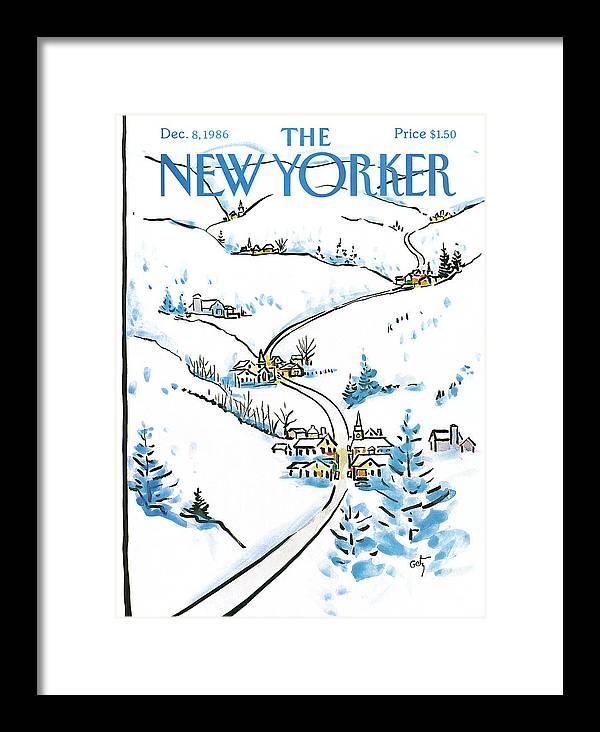 New Yorker December 8th, 1986 by Arthur Getz