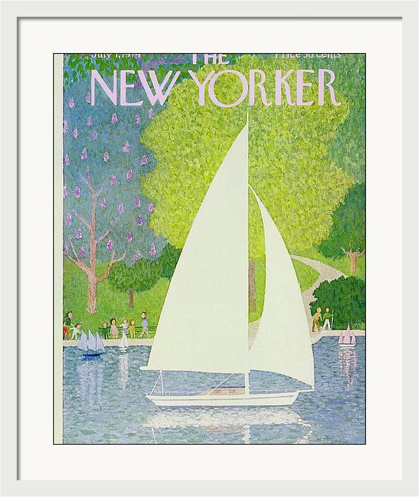 New Yorker July 1st 1974 by Charles Martin