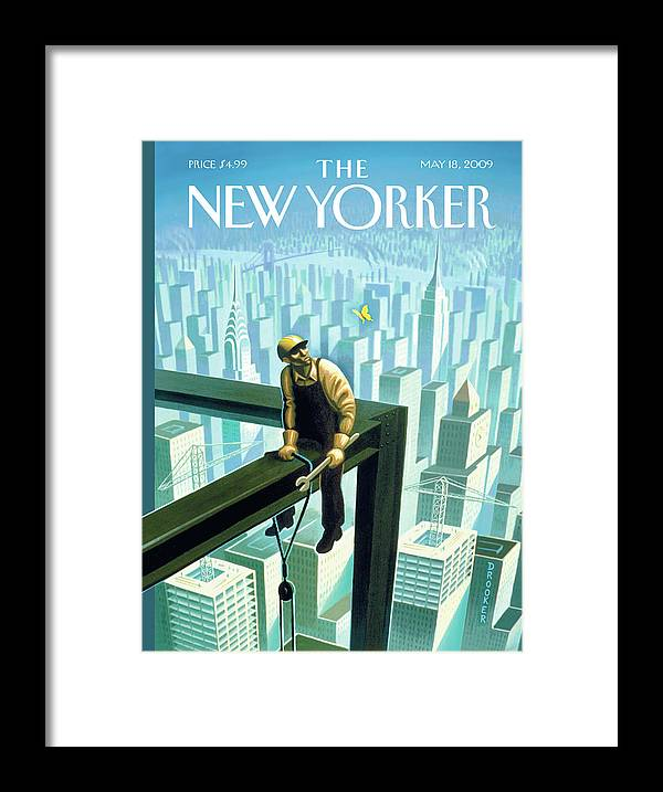 New Yorker May 18th, 2009 by Eric Drooker
