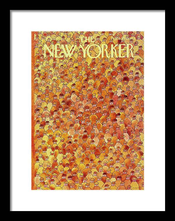 New Yorker November 5th 1973 by Jean-Michel Folon