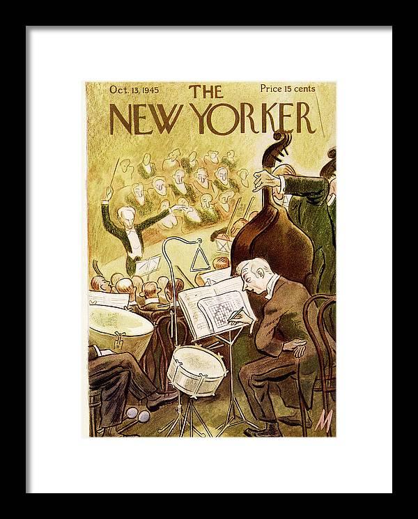 New Yorker October 13th, 1945 by Julian de Miskey