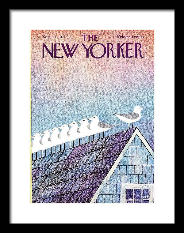 New Yorker September 11th, 1971 by Charles E Martin