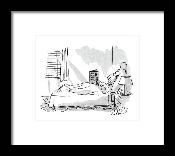 Psychology Framed Print featuring the drawing New Yorker September 1st, 1980 by Sam Gross