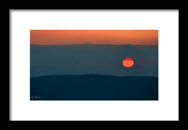 Africa Framed Print featuring the photograph Ngorongoro Sunset by Joe Bonita