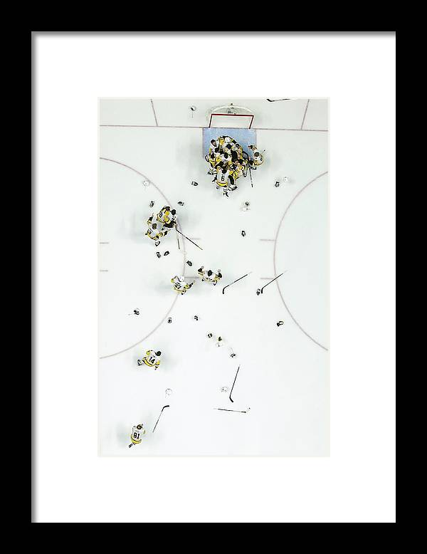 Playoffs Framed Print featuring the photograph Nhl Jun 11 Stanley Cup Finals Game 6 - by Icon Sportswire