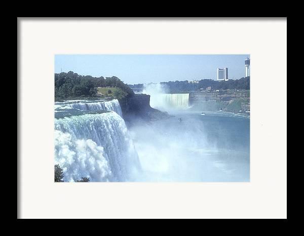 Landmark Framed Print featuring the photograph Niagara Falls - New York by Mike McGlothlen