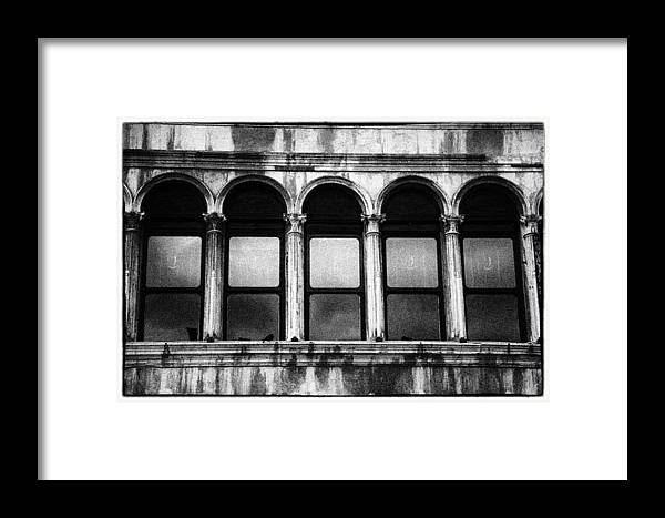 Architecture Framed Print featuring the photograph Nice Curves by Craig Brown