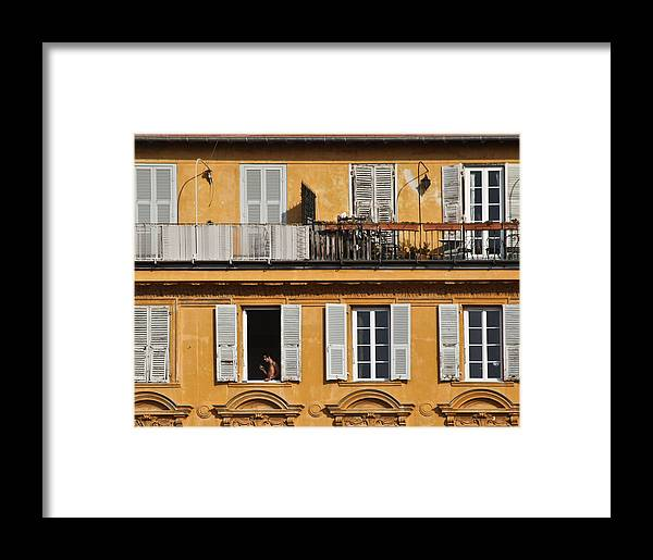 Landscape Framed Print featuring the photograph Nice France by Janee Hartman