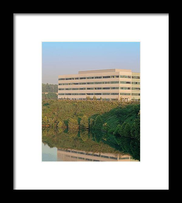 Quarry Framed Print featuring the photograph Nice Place To Work by Michael Porchik