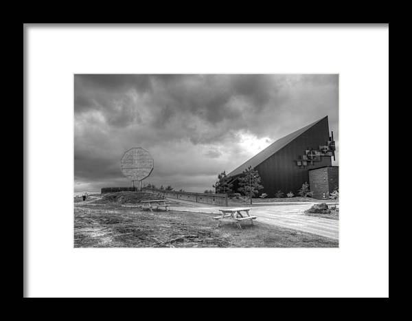 Framed Print featuring the photograph Nickel Rd by Matthew Barton