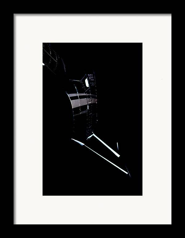 Robinson's R66 Turbine Helicopter Framed Print featuring the photograph Night 66 by Paul Job