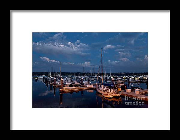 Beve Brown-clark Framed Print featuring the photograph Night Beckons by Beve Brown-Clark Photography