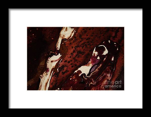 Cream Framed Print featuring the photograph Night Time Fusion by Lisa Payton
