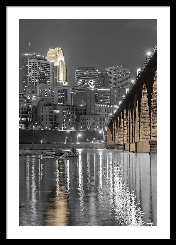 Nightlight, Minneapolis MN Skyline by Near and Far Photography