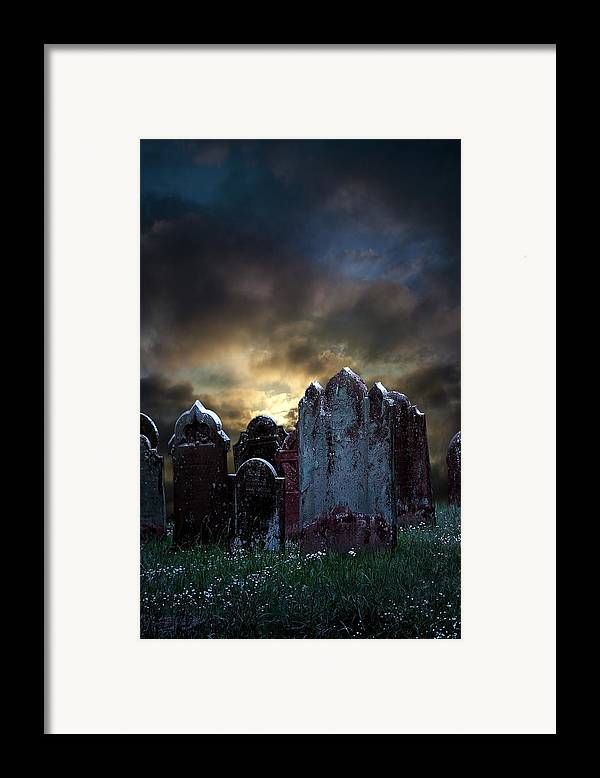 Bloody Framed Print featuring the photograph Nightmare Hill by Svetlana Sewell