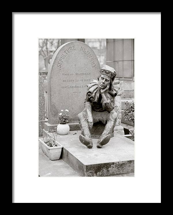 Ballet Framed Print featuring the photograph Nijinsky In Paris by Shaun Higson