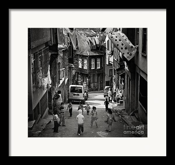 Istanbul Framed Print featuring the photograph No Nintendo For Them by Michel Verhoef