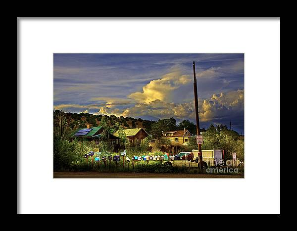Mailboxes Framed Print featuring the photograph No Parking Anytime I by Madeline Ellis