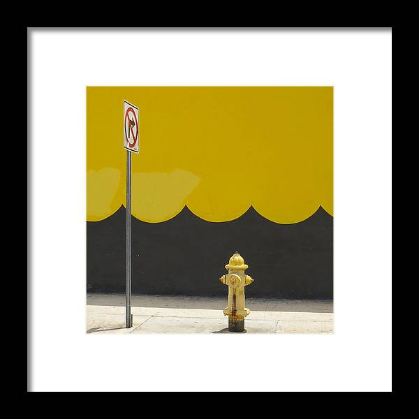 Miami Framed Print featuring the photograph No Right Turn by Dart and Suze Humeston
