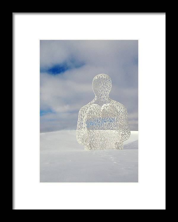 Nomad Framed Print featuring the photograph Nomad by Buffalo Bonker