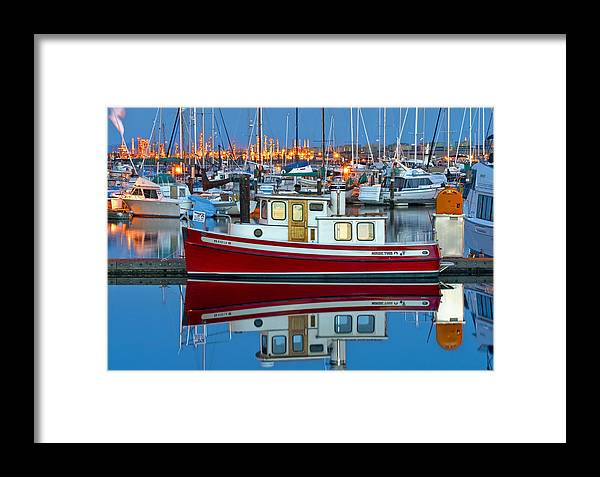 Anacortes Framed Print featuring the photograph Nordic Tug by Mark Kiver