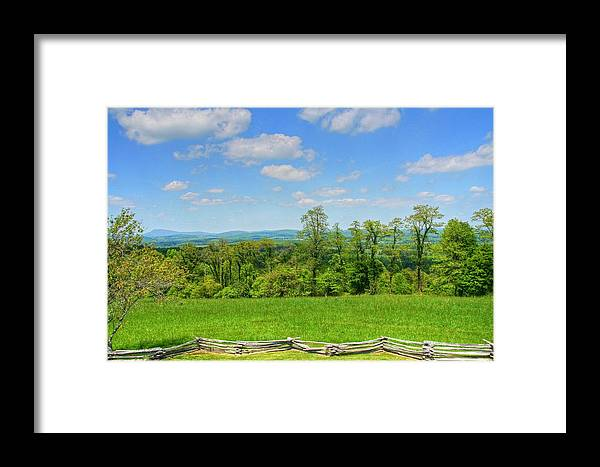 Mountain Framed Print featuring the photograph North Carolina Mountains by Heather Allen