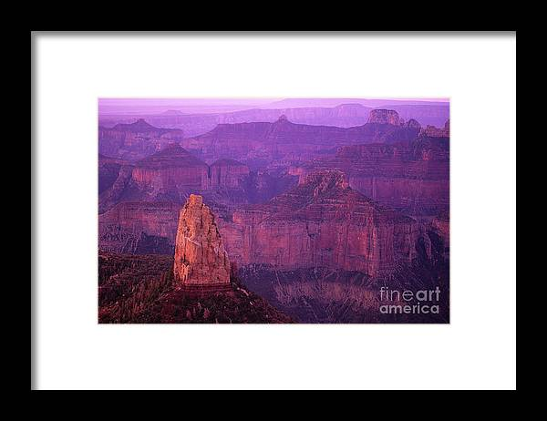 Grand Canyon Framed Print featuring the photograph North Rim Grand Canyon by Bob Christopher