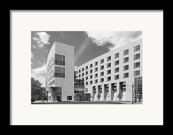 African-american Institute Framed Print featuring the photograph Northeastern University O' Bryant African American Institute by University Icons