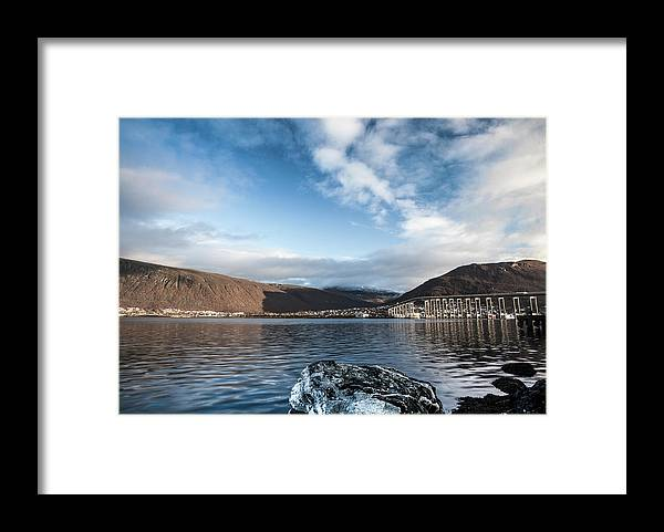 Tromso Framed Print featuring the photograph Norway Day Shot by Jordanwhipps1987