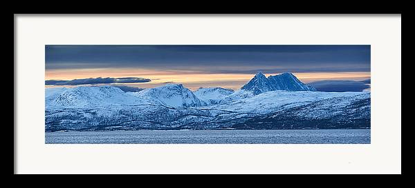Norway Framed Print featuring the photograph Norwegian Coast by Wade Aiken