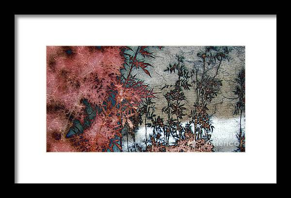 Reflection Framed Print featuring the mixed media Nostalgia About Japan by Irina Hays