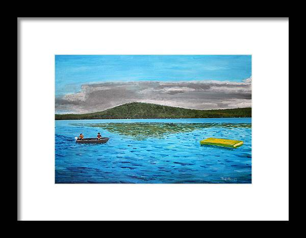 Nothing Framed Print featuring the painting Not For Sale by William Tremble