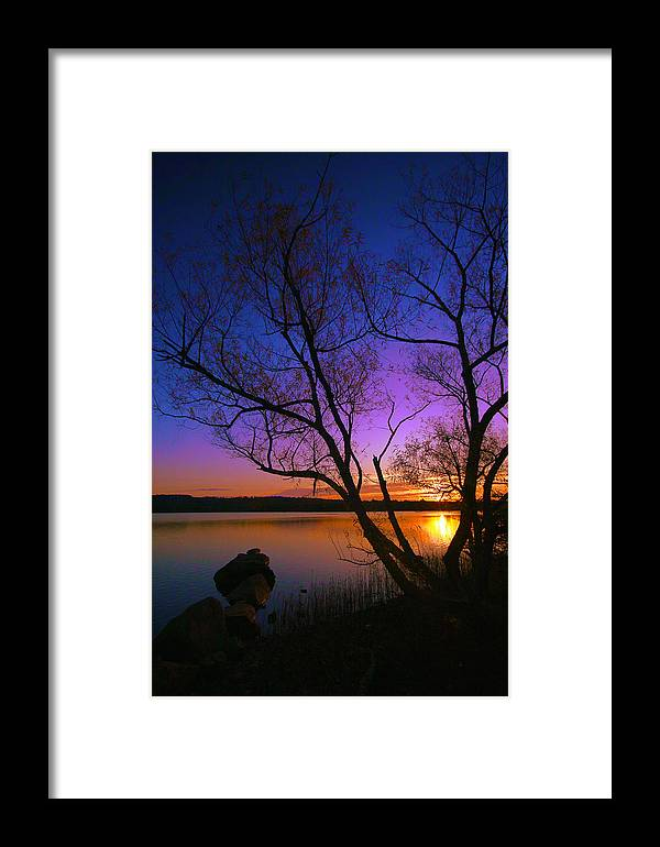 Sunrise Framed Print featuring the photograph Nothing Gold Can Stay by Mitch Cat