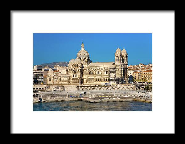 Photography Framed Print featuring the photograph Notre Dame De La Garde, Marseille by Panoramic Images