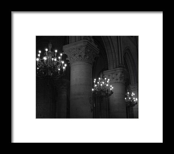 Notre Dame Framed Print featuring the photograph Notre Dame by Todd Hartzo