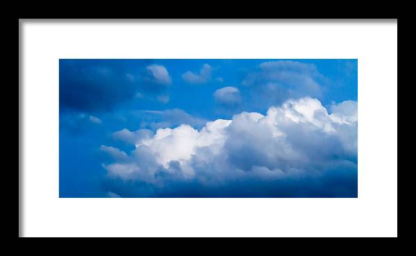 Sky Framed Print featuring the photograph November Clouds 007 by Agustin Uzarraga