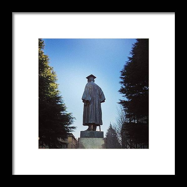 Tokyo Framed Print featuring the photograph 早稲田大学 #tokyo by Tokyo Sanpopo