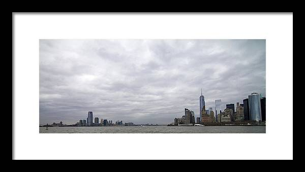 Nyc Framed Print featuring the photograph Nyc Sky-line by Cameron McManus