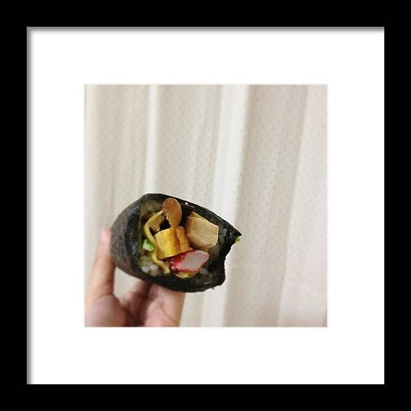 Framed Print featuring the photograph ダイナミック(^o^) by Tokyo Sanpopo