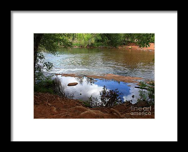 Sedona Framed Print featuring the photograph Red Rock Crossing by Carol Groenen