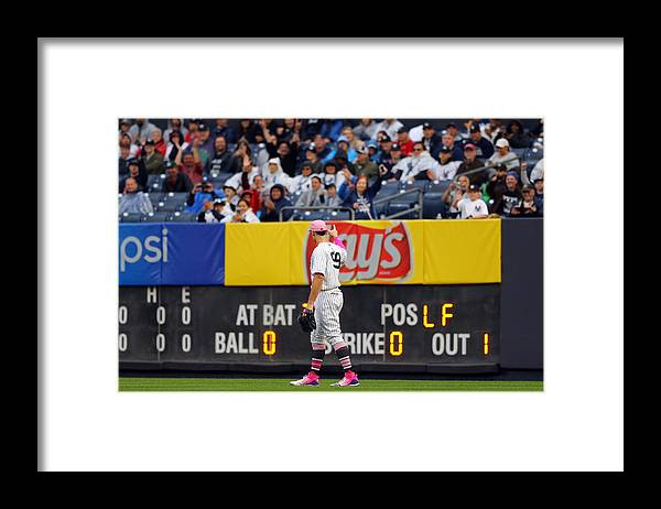 Crowd Framed Print featuring the photograph Oakland Athletics v. New York Yankees by Alex Trautwig