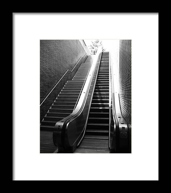 Stairs Framed Print featuring the photograph Oakland Station by Todd Hartzo