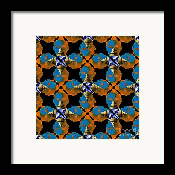 Politic Framed Print featuring the photograph Obama Abstract 20130202p28 by Wingsdomain Art and Photography