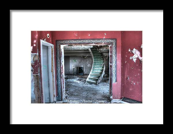 Hdr Framed Print featuring the photograph Observatory 4 by Michaela Preston