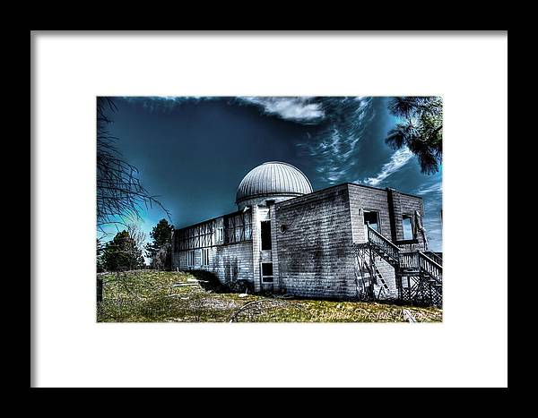 Hdr Framed Print featuring the photograph Observatory 6 by Michaela Preston