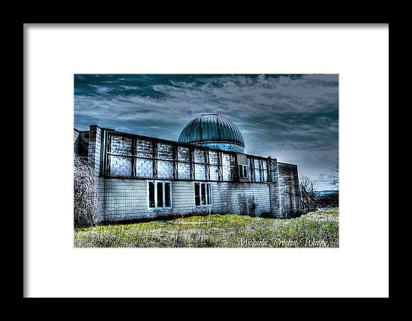 Hdr Framed Print featuring the photograph Observatory 7 by Michaela Preston