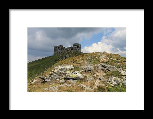 Carpathian Framed Print featuring the photograph Observatory On The Pip Ivan Mountain by Pavlo Kuzyk