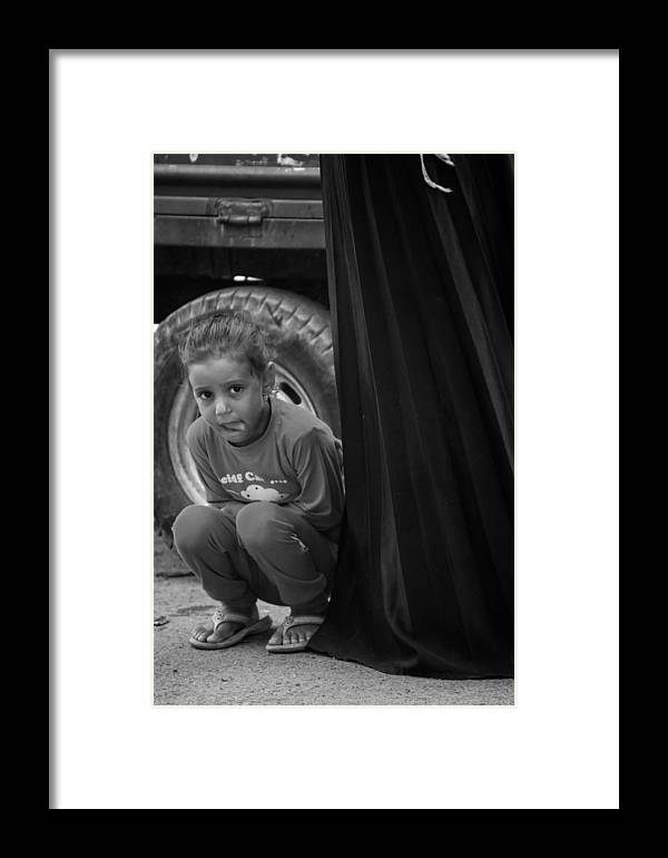 Egypt Framed Print featuring the photograph Observe Yet Not Be by Jez C Self